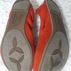 dexflex comfort Shoes - DexFlex Comfort Fit Burnt Orange Ballet Slip ons